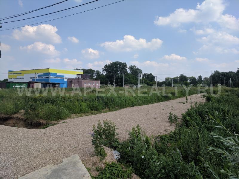 земельный участок под строительство склада