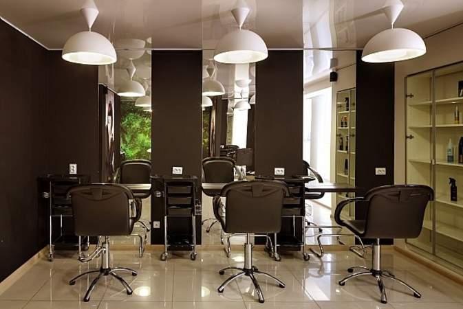 Дизайн парикмахерской на 3 рабочих местах